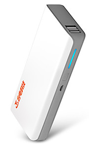 Teclast® T100E 10000mAh LED Power Bank 5V 2.0A External Multi-Output with Cable QC 2.0