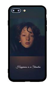 아이폰 7 플러스 7 케이스 커버 패턴 뒷면 커버 케이스 단어 / 문구 하드 아크릴 아이폰 6s 플러스 6 플러스 6s 5s 6 5 se