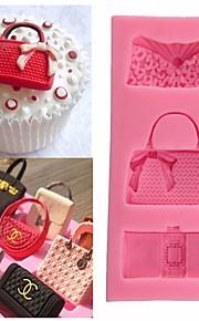 1 Molde para hornear para la torta para la galleta Goma de Silicona Cumpleaños Manualidades