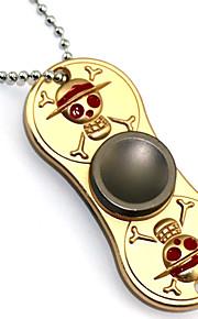 Fidget Spinner Inspirado por One Piece Roronoa Zoro Animé Accesorios de Cosplay Cromado