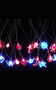 3PCS Multicolor LED Flashing  Necklace Light Up Acrylic Necklace for Party Bar Halloween Chiristmas Ramdon Style