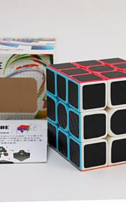 Let Glidende Speedcube Magiske terninger 3D-puslespil Pædagogisk legetøj Puslespil glat Sticker Anti-pop Justerbar fjeder Plastik Kulfiber