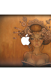 For MacBook Air 11 13/Pro13 15/Pro with Retina13 15/MacBook12 Classical Beauty Decorative Skin Sticker