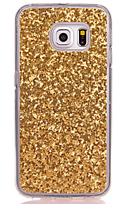 Voor Samsung Galaxy S8 Plus S8 Translucent Case Cover Cover Glitter Shine Soft TPU voor Samsung Galaxy S7edge S7 S6 Kant S6 S5 Mini S5 S4