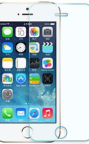 Felsen für Apfel iphonese / 5s Schirmschutz gehärtetes Glas 2.5 Anti blu-ray vorderer Schirmschutz 1pcs