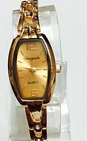 Жен. Женские Наручные часы Часы-браслет Китайский Кварцевый сплав Группа Повседневная Розовое золото