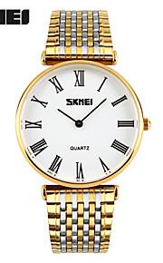 בגדי ריקוד נשים בגדי ריקוד גברים שעוני ספורט שעוני שמלה שעון חכם שעוני אופנה שעון יד ייחודי Creative צפה Chinese קווארץ עמיד במים צג גדול