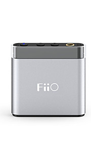 Fiio a1 mini hovedtelefonforstærker klassisk lille størrelse metal shell plug and play 4 eq tilstande hardware bas boost opsætning