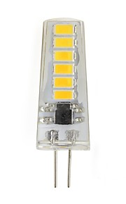 2W LED-lamper med G-sokkel T SMD 5730 180 lm Varm hvit Kjølig hvit V 1 stk.