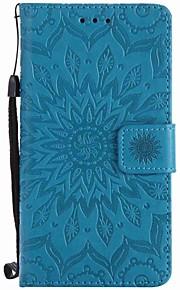 Voor Sony xperia xz xa zonnebloemen gepersonaliseerde pu telefoon hoesje voor m4 m2 z5 z4 mini xa ultra x xperformance e5 m5