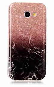 עבור Samsung Galaxy A3 (2017) a5 (2017) מקרה לכסות imd חזרה מקרה במקרה שיש רך במקרה tpu