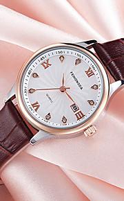 Feihongda Women's Fashion Wrist watch Unique Creative Watch Casual Quartz Genuine Leather Band Charm Luxury Elegant Cool Calendar Watches