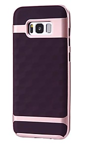 Für samsung galaxy s8 s8 plus case cover 3d ling spiegel muster pc tpu combo all-inclusive fallen Telefon Fall