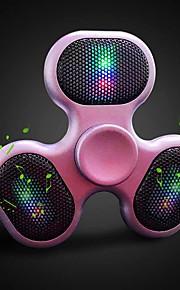 Outdoor Fidget Spinner Speaker LED Bluetooth Speaker Spinner Support TF Card