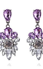 Dame Pige Stangøreringe Dråbeøreringe Imiteret Diamant RhinstenRhinsten Holdbar Boheme Stil Yndig Sød Stil Euro-Amerikansk Tyrkisk luksus