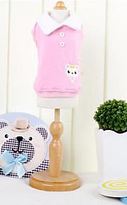 Koira T-paita Koiran vaatteet Sininen Pinkki