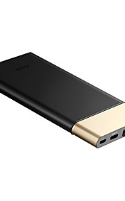 Teclast® T100E 10000mAh LED Power Bank 5V 2.1A External Multi-Output with Cable QC 3.0