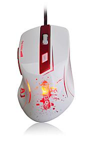 Ajazz-aj100 primeiro mouse laser de sangue 8200 dpi 6 botões led óptico usb com fio mouse de jogo a9800