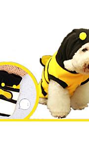 ネコ 犬 コスチューム 犬用ウェア コスプレ 動物 ブラック イエロー ストライプ
