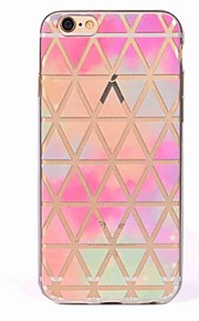Case for iPhone 7 7 Plus Cover Translucent Pattern Back Cover Case Grid Network Soft TPU for iPhone 6 6S 6S Plus 5S 5 SE