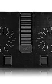 Soporte Ajustable Plegable otro ordenador portátil Macbook Portátil Soporte con Adaptador Soporte con ventilador de refrigeración Metal