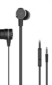 iphone6 / iphone6 plus mobilephone / pad / mp3 / pc用のマイク付きplextone®g20in-ear e-sportsゲームメタル重低音イヤホン