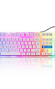 Sunsonny s-k5 19 Tasten usb Metalltafel verdrahtet Spieltastatur mit 160cm Kabel