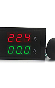 Digital Dual Display AC Voltmeter Ammeter (100~300V / 0~100A)