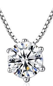 Dame Halskædevedhæng Smykker Geometrisk form Sølvbelagt Geometrisk Smykker Til Anden