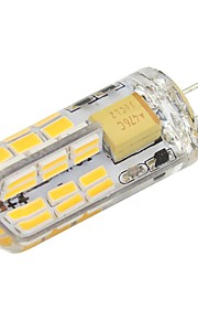2W 2-pins LED-lampen T 48 SMD 4014 180 lm Warm wit Koel wit V 1 stuks