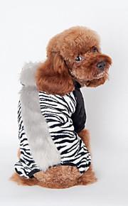 Hund Weste Hundekleidung Lässig/Alltäglich Zebra Schwarz Braun Rosa