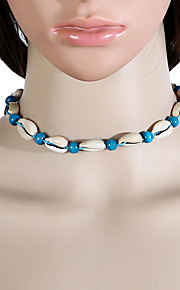Women's Choker Necklaces Cowry Unique Design Jewelry For Dailywear Outdoor clothing