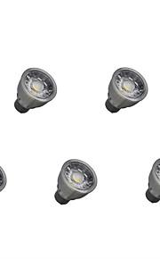 5W LED-spotlampen 1 COB 550 lm Warm wit Koel wit Decoratief V 5 stuks
