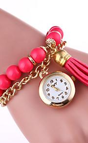 Damskie Zegarek na bransoletce Kwarcowy Pasmo Kreatywne Elegancki Czarny Biały Niebieski Zielnony Różowy żółty Rose