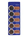 SONY CR2032 3V High Capacity Lithium Button Cell Batteries (5-pack)