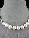 Collier de perles Perle Chaine unique Perle bijoux de fantaisie Bijoux Pour