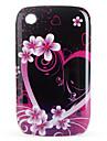 블랙 베리 8520, 8530, 9300, 9330에 대한 보호 꽃 패턴 케이스