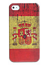 Antique Spain Flag Case for iPhone 4 and 4S