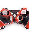 Защитный силиконовый чехол для джойстика P3 (красный и черный)