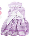 Dog Dress / Clothes/Clothing White / Pink / Purple Summer Solid Wedding