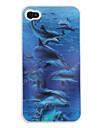 3d эффект кита картина случай iphone 4 и 4S