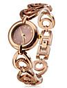 Женские Модные часы Кварцевый Группа Бронза бренд-