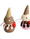 boneco de sorvete keychain (cores aleatorias)