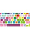 """красочные покрытия дизайн клавиатуры для 13 """"15"""" MacBook Pro"""