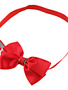 Dog tags Colorful Tiny Adjustable Bow Tie for Dogs Cats (Assorted Color)