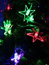 7M 30-LED Lumiere Bonne etoile en forme de bande LED colore lampe pour la decoration fee Festival (220)