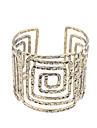 Для вечеринок / Повседневные - Браслет разомкнутое кольцо (Серебрянное покрытие / Позолота)