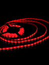 Waterproof 5M 300x3528 SMD Red Light LED Strip Lamp (12V)