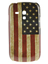 Retro Style US National Flag Pattern Hard Case for Samsung Galaxy S3 Mini I8190