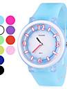 Мужская Резиновая кварцевые аналоговые наручные часы (разных цветов)